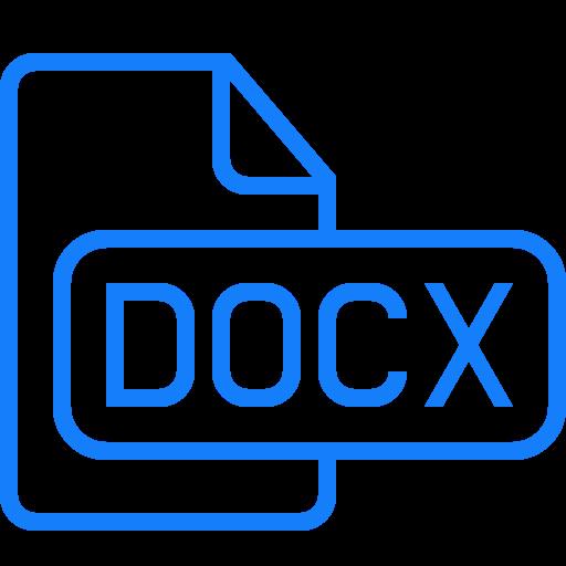 , Document, Docx Icon