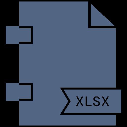 Type, Filetypes, Xlsx Icon Free Of Names Vol Icons