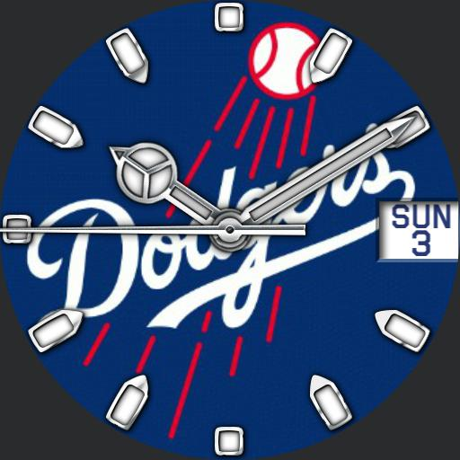 Dodgers Analog For G Watch R