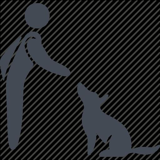 Animal, Dog, Human, Pet, Pets Icon