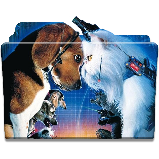 Cat And Dogs Movie Folder Icon