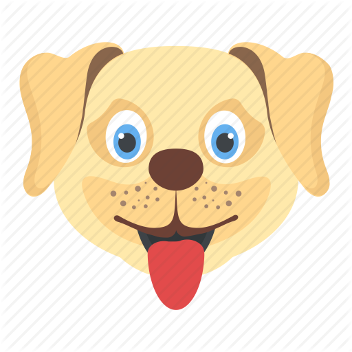 Animal, Cur, Dog Face, Puppy, Tommy Face Icon