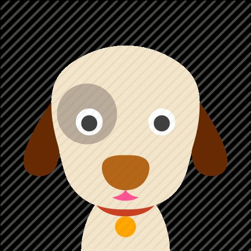 Dog, Face Icon