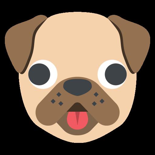Dog Face Emoji Vector Icon Free Download Vector Logos Art