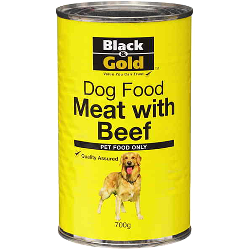 Black Gold Dog Food Meat With Beef