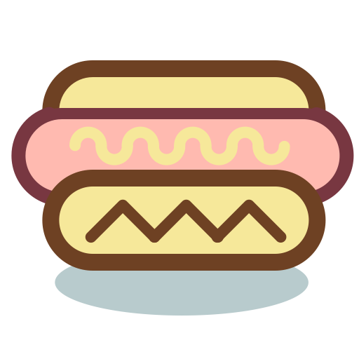 Hot Dog, Food, Fast Food Icon With Png And Vector Format For Free