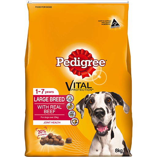 Pedigree Large Breed Years With Real Beef Dry Dog Food