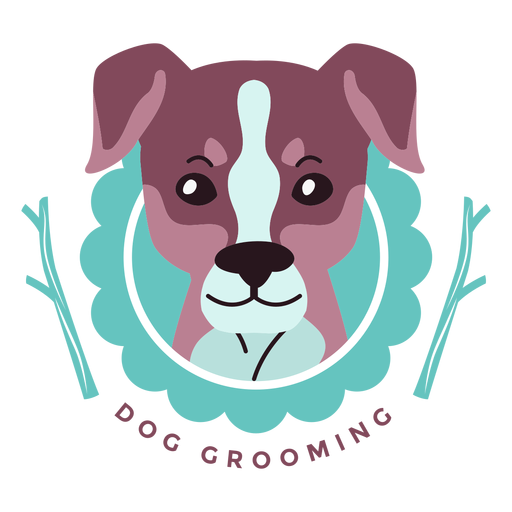 Dog Grooming Logo