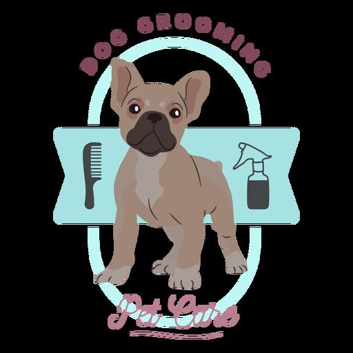 Dog Grooming Pet Care Logo