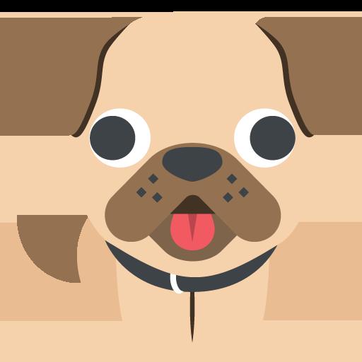 Dog Emoji Vector Icon Free Download Vector Logos Art Graphics