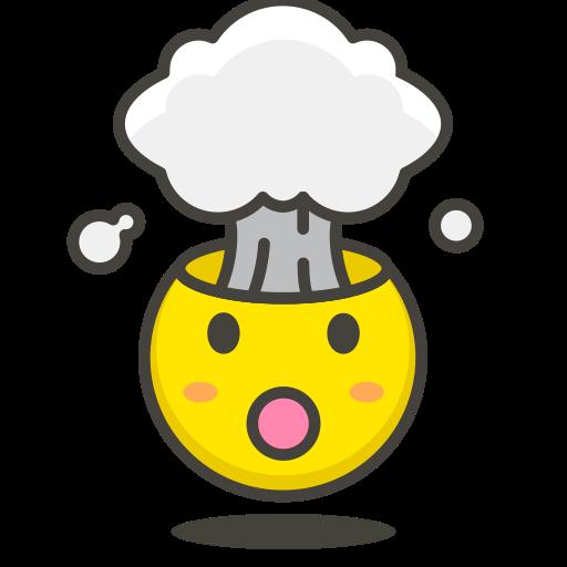 Exploding, Head Icon Free Of Free Vector Emoji