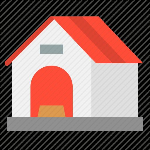 Dog, Dog House, House, Pet House Icon