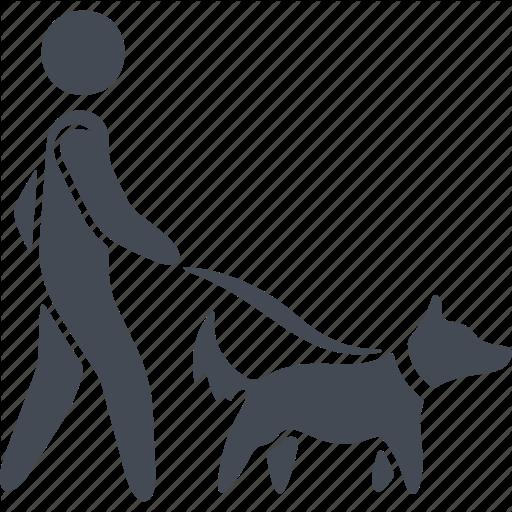 Animal, Dog, Man, Pets, Walking The Dog Icon