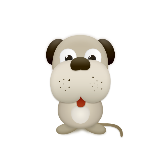 Dog, Animal, Trans Icon Cute Critters Icon Sets Icon Ninja