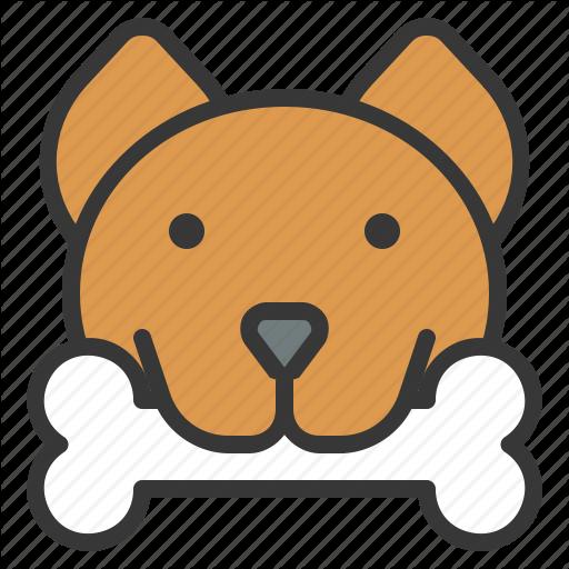 Bone, Dog, Dog Face, Pet Icon