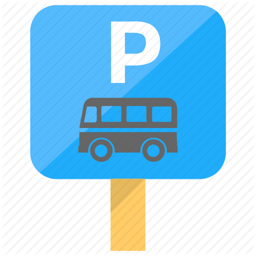 Bus Parking, Directional Sign, P Sign Board, Road Sign, Traffic