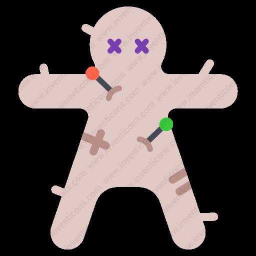 Download Voodoo,doll Icon Inventicons