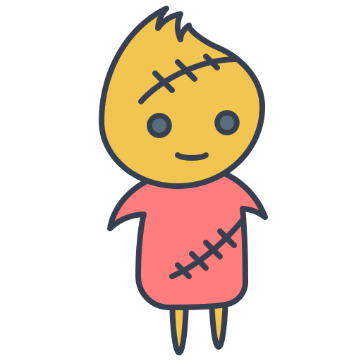 Stitched, Doll Icon Free Of Trick Or Treat