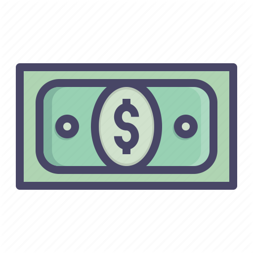 Dollar Bill Icon at GetDrawings | Free download