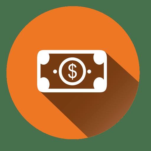 Dollar Bill Circle Icon