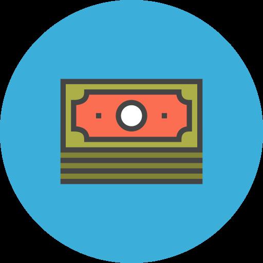 Dollar, Bills, Money, Dollars Icon Free Of Flat Line Ecommerce