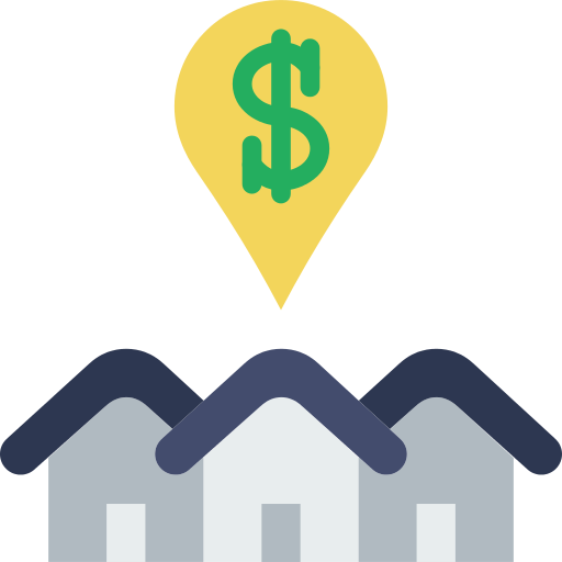 Real Estate Dollar Png Icon