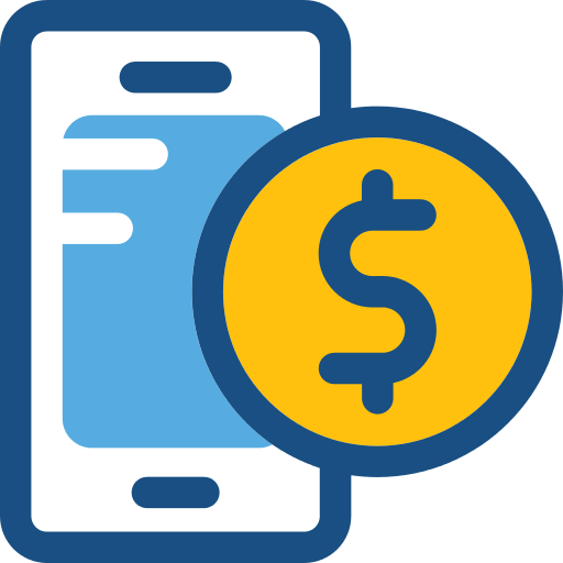 Smartphone Dollar Png Icon