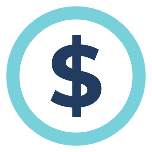 Marketing Dollar Sign Icon