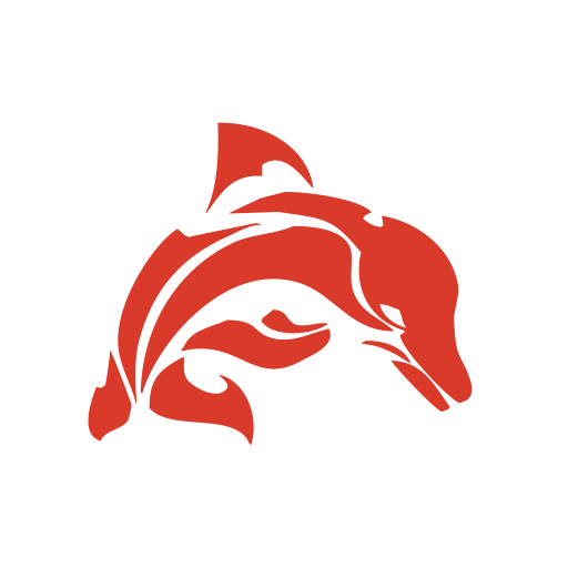 Dolphin Stroke, Dolphn With Png And Vector Format For Free