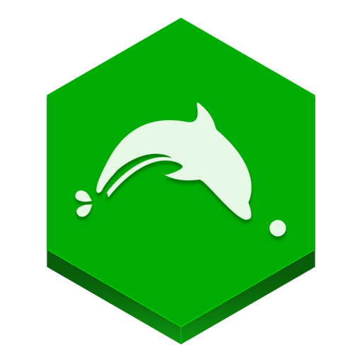 Dolphin Browser Icon Hex Iconset
