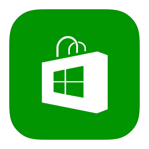 Mobile Apps Flat Green Icon