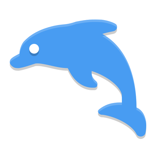 Dolphin Emu Icon Papirus Apps Iconset Papirus Development Team
