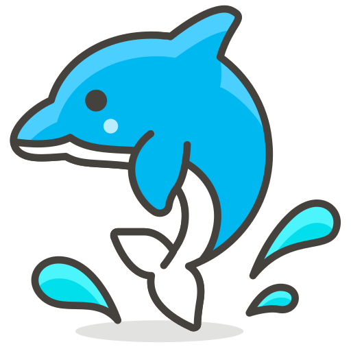 Dolphin, Animal Icon Free Of Another Emoji Icon Set