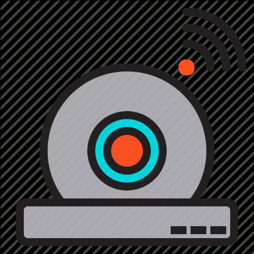 Camera, Cctv, Dome, Guard, Ip, Security, Surveillance Icon