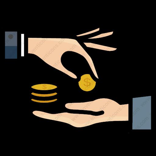 Download Cash,donation,bribe,donation Icon Inventicons