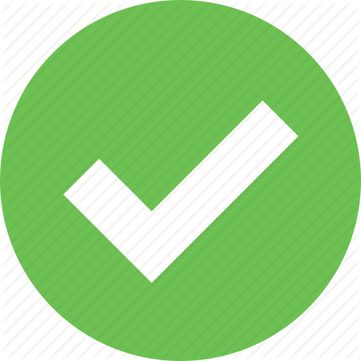 Accept, Correct, Done, Ok, Tick, Valid, Yes Icon