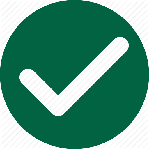 Allow, Check, Complete, Done, Success, Tick, Yes Icon