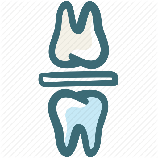 Bite Block, Bite Block Bruxism, Bruxism, Dental, Doodle Icon