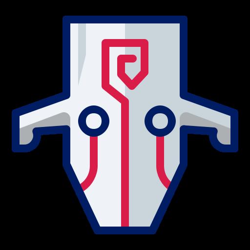 Character, Game, Inkcontober, Juggernaut, Mask Icon