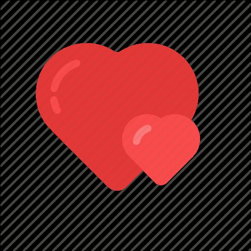 Couple, Double, Heart, Love, Romantic, Valentine, Valentine's Day Icon
