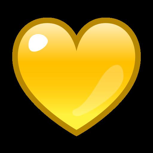 Heart Emoji Black, Red, Pink