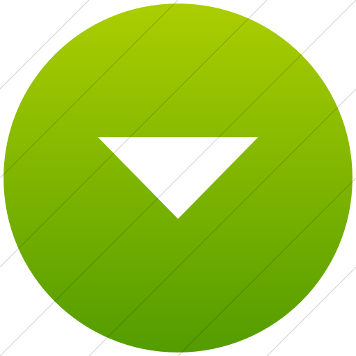 Flat Circle White On Green Gradient Classica Volume