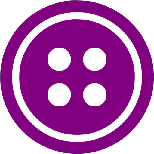 Purple Button Icon