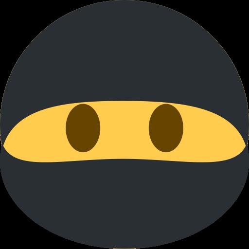 Ninja Discord Emoji Logo Image