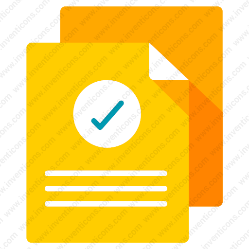 Download Verified,document Icon Inventicons