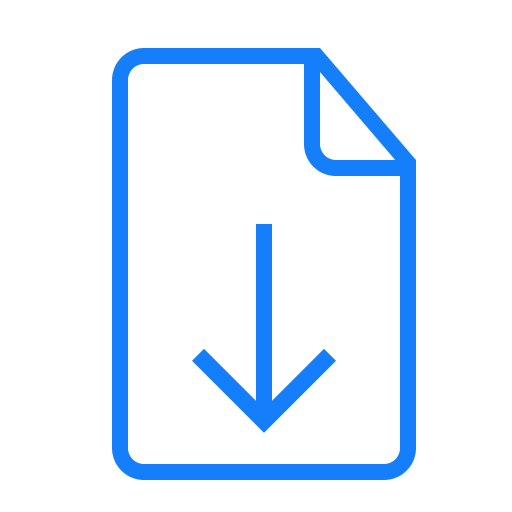 Download, Document Icon