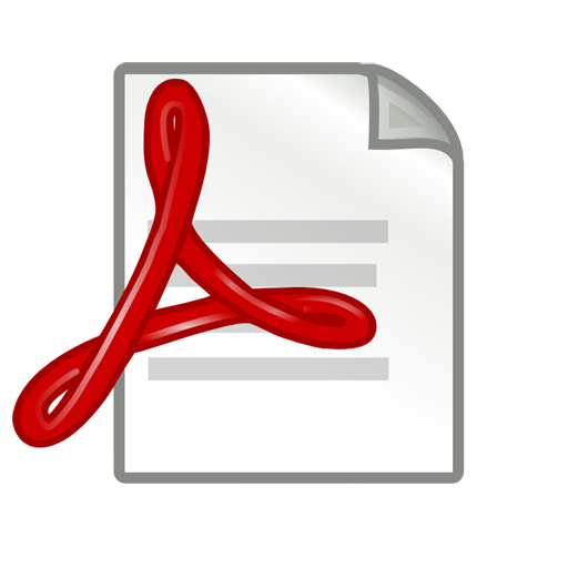 Pdf Document Icon Free Icons Download