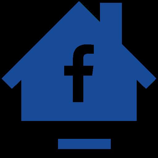 Facebook, Home, House, Social Icon