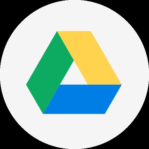 Circle, Cloud, Cloud Storage, Drive, Google, Google Drive, Round