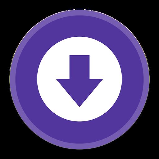 Downloads Icon Button Ui